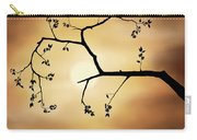 Cherry Blossom Over Dramatic Sky Carry-all Pouch