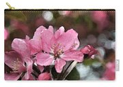 Cherry Blossom Photo Art And Blank Greeting Card Carry-all Pouch