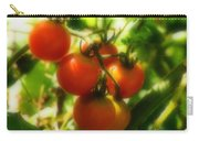 Cherry Tomatoes On The Vine Carry-all Pouch
