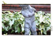 Cherub At The Pond Carry-all Pouch