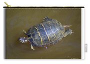 Chester River Turtle Carry-all Pouch by Brian Wallace