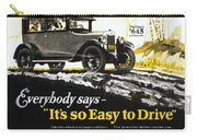Chevrolet Ad, 1926 Carry-all Pouch