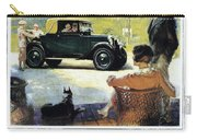 Chevrolet Ad, 1927 Carry-all Pouch