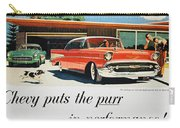Chevrolet Ad, 1957 Carry-all Pouch