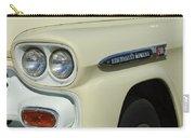 Chevrolet Apache 31 Fleetline Headlight Emblem Carry-all Pouch