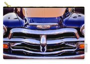 Chevrolet Pickup Truck Grille Emblem Carry-all Pouch by Jill Reger