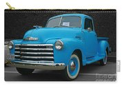 Chevy Pick-up With Bw Background Carry-all Pouch