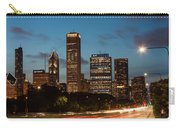 Chicago Business District At Dusk Carry-all Pouch