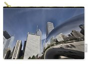 Chicago Cityscape The Bean Carry-all Pouch
