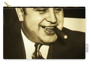 Chicago Gangster Al Capone Carry-all Pouch