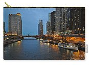 Chicago River At Twilight Carry-all Pouch