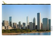 Chicago Skyline At Sunrise Carry-all Pouch