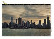 Chicago Skyline Navy Pier Carry-all Pouch
