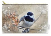 Chickadee Breakfast With Decorations Carry-all Pouch