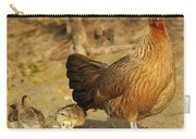 Chicken And Chicks Carry-all Pouch
