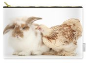 Chicken And Rabbit Carry-all Pouch