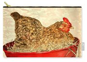 Chicken Hen Painting Art Print Carry-all Pouch