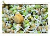 Chickpea And Other Lentils In The Form Of Healthy Eatable Sprouts Carry-all Pouch