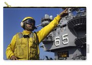 Chief Aviation Boatswains Mate Directs Carry-all Pouch by Stocktrek Images