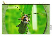 Child Kid Birthday Greeting Card - Lightning Bug Carry-all Pouch