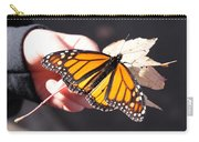 Child With Butterfly Carry-all Pouch