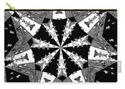 Children Animals Kaleidoscope Black And White Carry-all Pouch