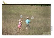Children Collecting Insects Carry-all Pouch by Ted Kinsman