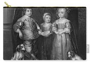 Children Of Charles I Carry-all Pouch