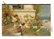 Children Playing With Boats Carry-all Pouch