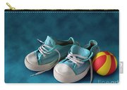 Children Sneakers Carry-all Pouch by Carlos Caetano