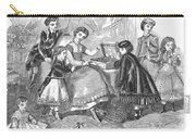 Childrens Fashion, 1868 Carry-all Pouch