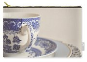 China Cup And Plates Carry-all Pouch by Lyn Randle