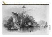 China: Golden Island, 1843 Carry-all Pouch
