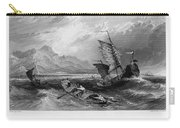 China: Gulf Of Bohai, 1843 Carry-all Pouch