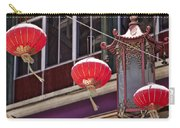 China Town San Francisco Carry-all Pouch by Kelley King