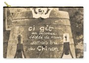 Chinon Wine  Carry-all Pouch