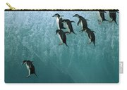 Chinstrap Penguin Pygoscelis Antarctica Carry-all Pouch