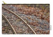 Chipmunk On The Railroad Track Carry-all Pouch