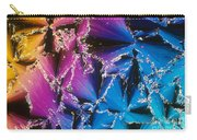 Cholesteryl Benzoate Crystal Carry-all Pouch