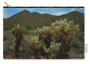 Cholla On The Mountainside Carry-all Pouch