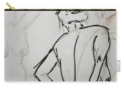 Chris - Life Drawing Carry-all Pouch