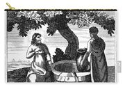 Christ & Woman Of Samaria Carry-all Pouch