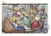 Christ And Apostles Carry-all Pouch