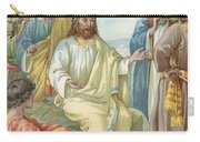 Christ And His Disciples Carry-all Pouch