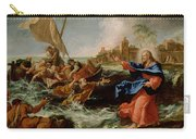 Christ At The Sea Of Galilee Carry-all Pouch