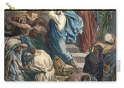 Christ At The Temple Carry-all Pouch