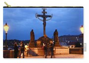 Christ Crucifixion Sculpture Carry-all Pouch