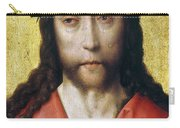 Christ In Crown Of Thorns Carry-all Pouch