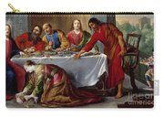 Christ In The House Of Simon The Pharisee Carry-all Pouch