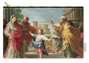 Christ Preaching In The Temple Carry-all Pouch